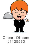 Waiter Clipart #1125533 by Cory Thoman