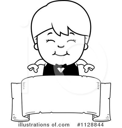 Waiter Clipart #1128844 by Cory Thoman