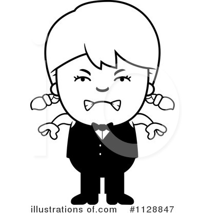 Waiter Clipart #1128847 by Cory Thoman