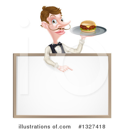 Cheeseburger Clipart #1327418 by AtStockIllustration