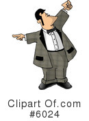 Waiter Clipart #6024 by djart