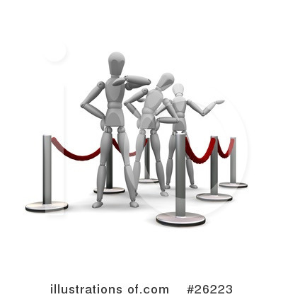 Waiting Clipart #26223 by KJ Pargeter