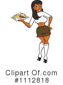 Waitress Clipart #1112818 by LaffToon