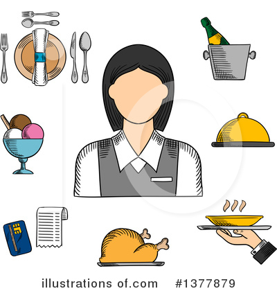 Wine Clipart #1377879 by Vector Tradition SM