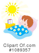 Royalty-Free (RF) wake up Clipart Illustration #1089357