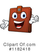 Royalty-Free (RF) wallet Clipart Illustration #1182418