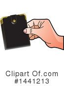 Wallet Clipart #1441213 by Lal Perera