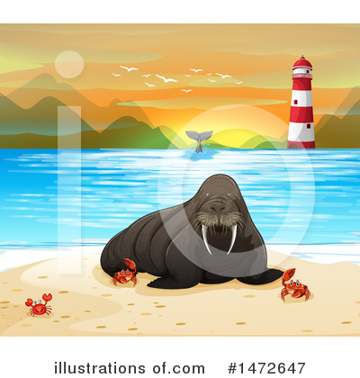 Whale Clipart #1472647 by Graphics RF
