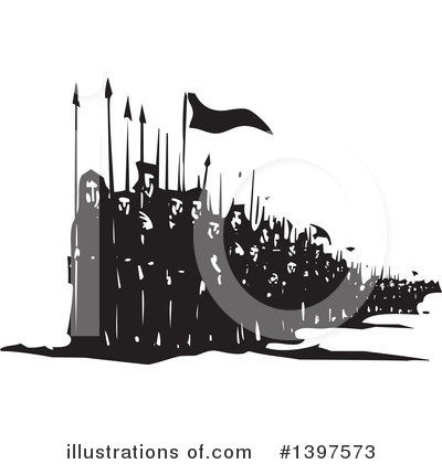 Royalty-Free (RF) War Clipart Illustration by xunantunich - Stock Sample #1397573