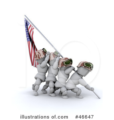 Memorial Day Clipart #46647 by KJ Pargeter