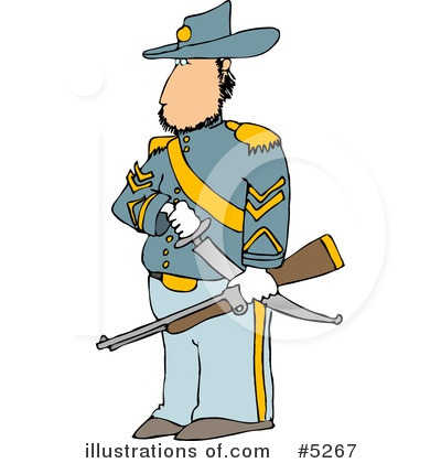 Royalty-Free (RF) War Clipart Illustration by Dennis Cox - Stock Sample #5267