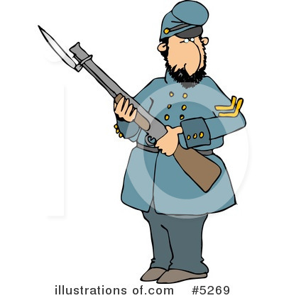 Royalty-Free (RF) War Clipart Illustration by Dennis Cox - Stock Sample #5269