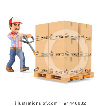 Worker Clipart #1446632 by Texelart