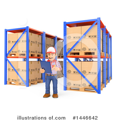 Warehouse Clipart #1446642 by Texelart