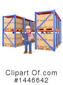 Warehouse Clipart #1446642