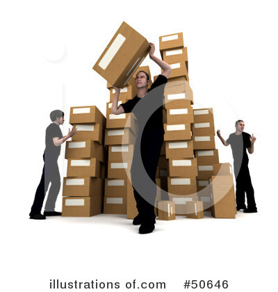 Shipping Clipart #50646 by Frank Boston
