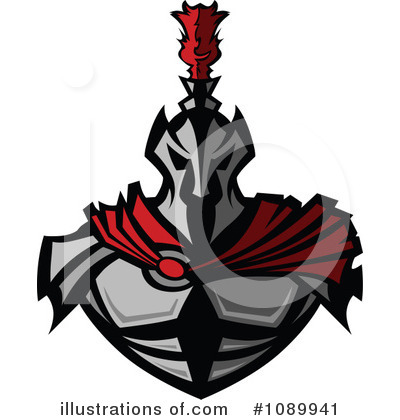 Spartan Clipart #1089941 by Chromaco