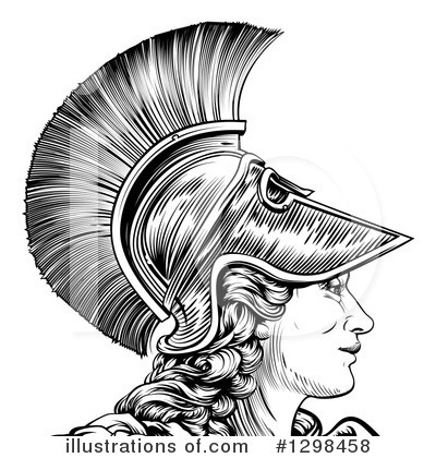 Royalty-Free (RF) Warrior Clipart Illustration by AtStockIllustration - Stock Sample #1298458