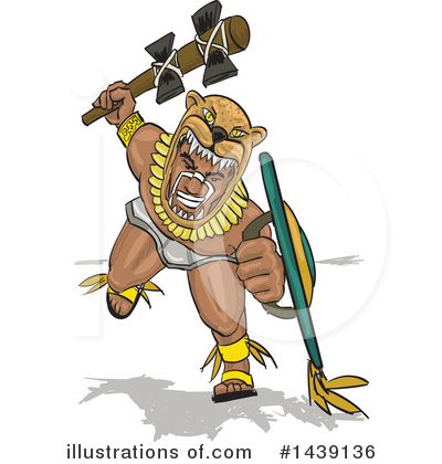Royalty-Free (RF) Warrior Clipart Illustration by David Rey - Stock Sample #1439136
