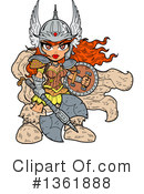 Warrior Princess Clipart #1361888