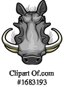 Warthog Clipart #1683193 by Vector Tradition SM