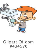 Washing Hands Clipart #434570 by toonaday