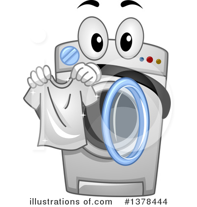 Laundry Clipart #1378444 by BNP Design Studio
