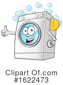 Washing Machine Clipart #1622473 by Domenico Condello