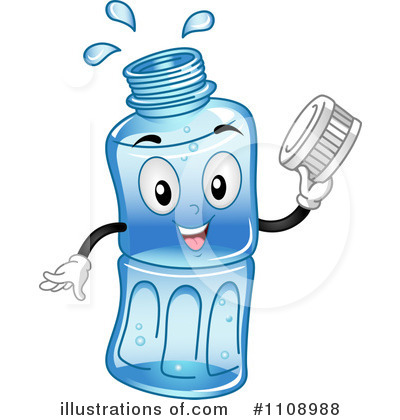 Water Bottle Clipart #1108988 - Illustration by BNP Design ...
