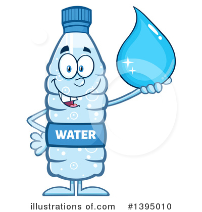 Water Drop Clipart #1395010 by Hit Toon
