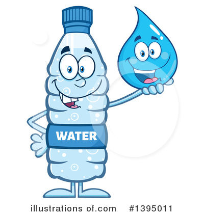 Water Drop Clipart #1395011 by Hit Toon