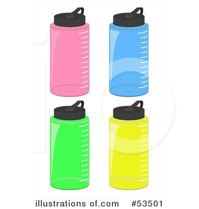 water bottle clipart 53501 illustration by david barnard rh illustrationsof com Supplement Bottle Chinese Drink Bottle Clip Art