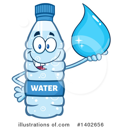 Water Drop Clipart #1402656 by Hit Toon