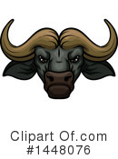 Water Buffalo Clipart #1448076 by Vector Tradition SM