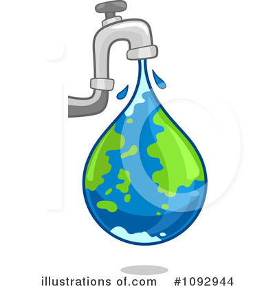 Faucet Clipart #1092944 by BNP Design Studio
