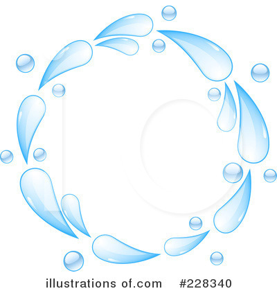 Royalty-Free (RF) Water Clipart Illustration by elaineitalia - Stock Sample #228340
