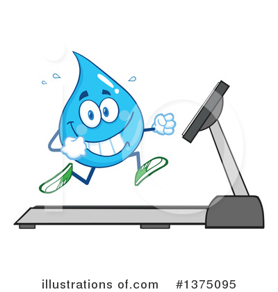 Water Drop Clipart #1375095 by Hit Toon