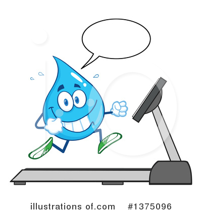 Water Drop Clipart #1375096 by Hit Toon
