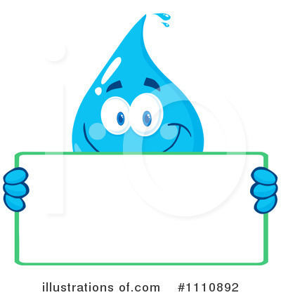 Water Drop Clipart #1110892 by Hit Toon