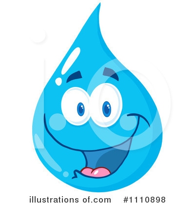Water Drop Clipart #1110898 by Hit Toon