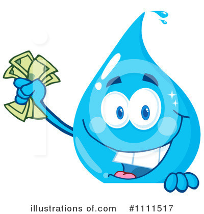 Water Drop Clipart #1111517 by Hit Toon