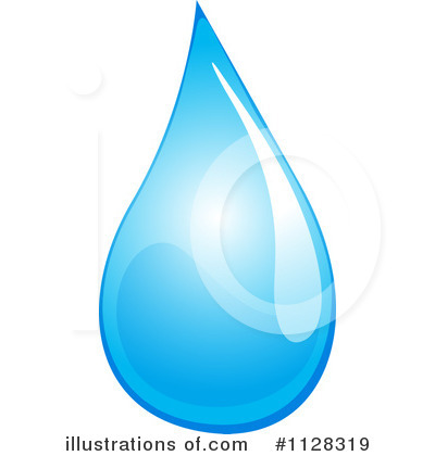 Water Drop Clipart #1128319 by Graphics RF