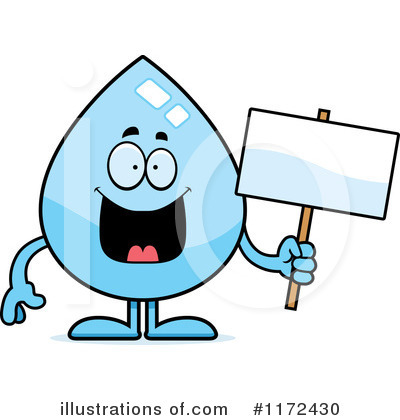 Water Drop Clipart #1172430 by Cory Thoman