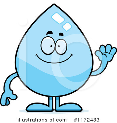 Water Drop Clipart #1172433 by Cory Thoman