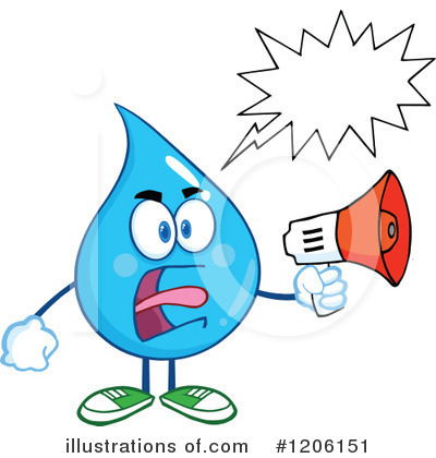 Megaphone Clipart #1206151 by Hit Toon