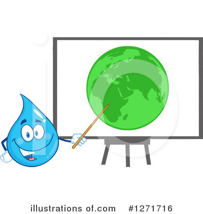 Water Drop Clipart #1271716 by Hit Toon
