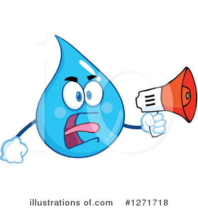 Water Drop Clipart #1271718 by Hit Toon