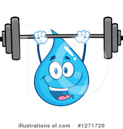 Water Drop Clipart #1271720 by Hit Toon