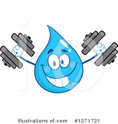 Water Drop Clipart #1271721 by Hit Toon