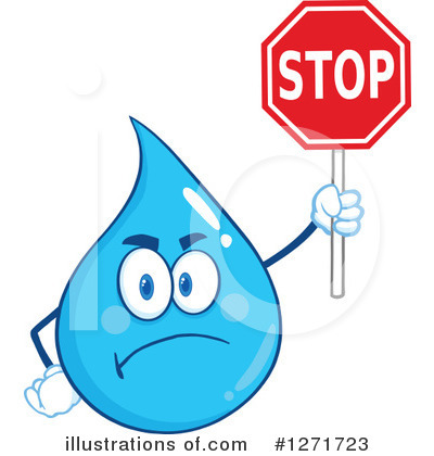 Water Drop Clipart #1271723 by Hit Toon
